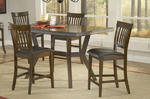 Arbor Hill Counter Height Dining Set (Colonial Chestnut Finish)