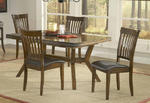 Arbor Hill Dining Set (Colonial Chestnut Finish)