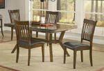 Arbor Hill Extension Dining Table (Colonial Chestnut Finish) - [4232-814]