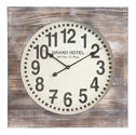 Augusta Clock (Distressed White Wash) - 27