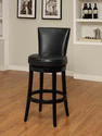 Boston Swivel Barstool (Black)