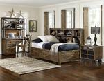 Braxton Lounge Bed (Distressed Natural)