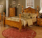 Bryant Bed (Light Chestnut Finish)