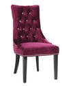 Carlyle Side Chair (Purple)
