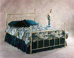 Chelsea Bed (Classic Brass Finish)