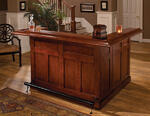 Classic Large Bar with Side Bar (Cherry Finish)