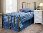 Edgewood Trundle Bed (Magnesium Pewter Finish)