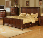 Hamilton Storage Bed (Dark Cherry Finish)