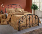 Jacqueline Bed (Old Brushed Pewter Finish)
