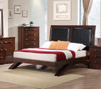 Java Bed (Dark Cherry Finish)