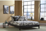 Murray Platform Bed (Black Finish)