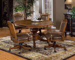 Nassau Game Table Set (Brown Finish) - [6060GTBC]