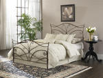 Papillon Headboard (Brushed Bronze Finish)