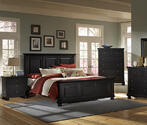 Reflections Mansion Bed (Ebony Finish)