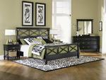 Regan Bedroom Set (Black)