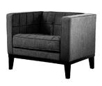 Roxbury Arm Chair (Charcoal)