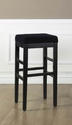 Sonata Counter Stool (Black)