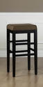 Sonata Counter Stool (Brown Microfiber)