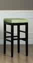 Sonata Counter Stool (Green Microfiber)
