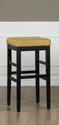 Sonata Counter Stool (Yellow Microfiber)