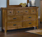 Timber Mill Dresser (Oak Finish)