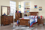 Tucson Bedroom Set (Chestnut Finish)