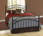 Willow Bed (Textured Black Finish)