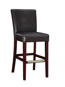 Bar Stool (Brown Bonded Leather) - [749-847]