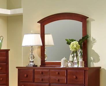 Hamilton Franklin Landscape Mirror (Cherry Finish)