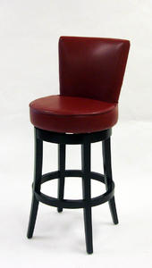Boston Swivel Barstool (Red) - [LC4044BARE30]