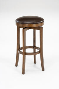 Brendan Backless Counter Stool (Brown Cherry Finish) - [63452-826]