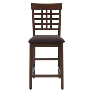 Caleb Brown Weave Back Counter Stool - Set of 2 - [976-BS515KD]