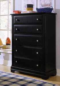 Cottage Collection Chest (Black Finish) - [BB16-115]