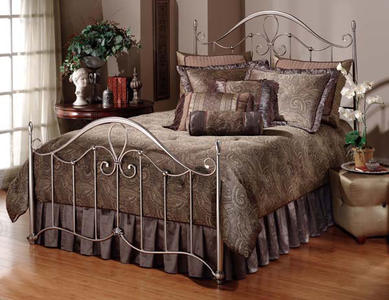 Doheny Bed (Antique Pewter Finish)