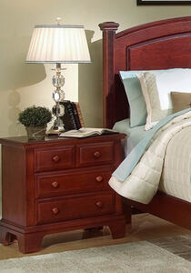 Hamilton Franklin Nightstand (Cherry Finish)