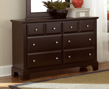 Hamilton Franklin Six Drawer Dresser (Merlot Finish) - [BB4-001]