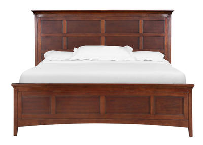 Harrison Storage Bed (Cherry)