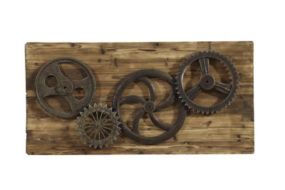 Industrial Gear Era Wall Art - [7500-620EC]
