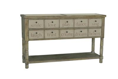 Inspire Console (Painted & Beige) - [730053]