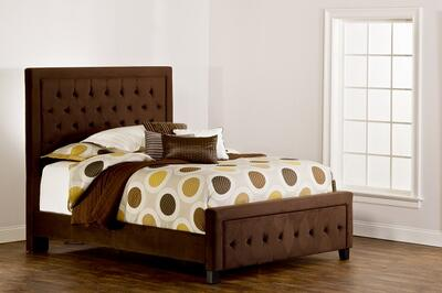 Kaylie Bed (Chocolate Finish) - [1554BQRK]