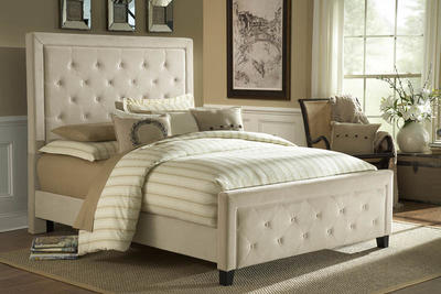 Kaylie Bed (Buckwheat Finish)