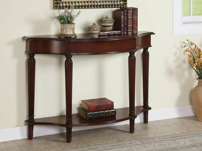 Masterpiece Console Table (Warm Cherry) - [912-225]