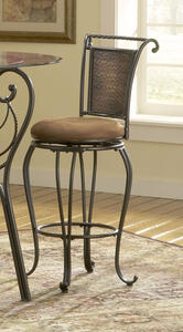 Milan Counter Stool (Black & Copper Finish) - [4527-827]