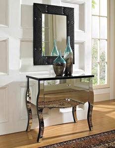 Mirrored Two Drawer Console (Mirrored) - [233-515]