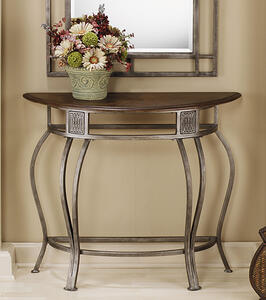 Montello Console Table (Old Steel Finish) - [41547]