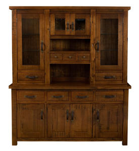 Outback Buffet & Hutch (Distressed Chestnut Finish) - [4321BH]