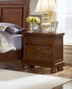 Reflections Night Stand (Medium Cherry Finish)