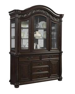 San Marino Buffet & Hutch (Sanibel & Dark Brown)