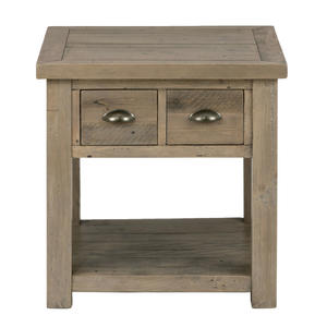 Slater Mill Pine End Table made of Reclaimed Pine - [940-3]