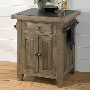 Slater Mill Pine Small Kitchen Island - [941-86]